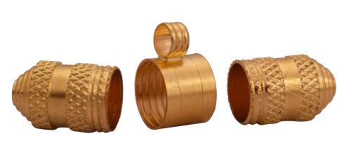"""médaillon 1/"""" cuivre or taweez//Tabeez Case chance Protection Pendentif amulette"""