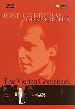 Jose Carreras: Vienna Comeback Recital DVD NEW