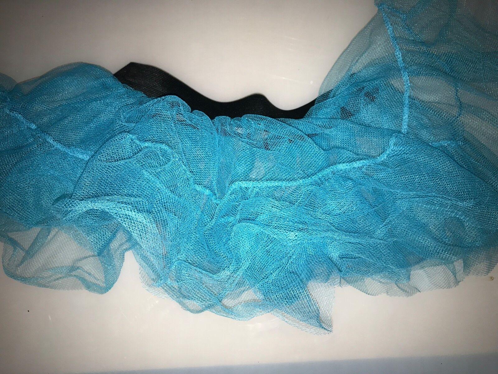 Light Turquoise netting Tutu Skirt Hen Night/Party 6/16