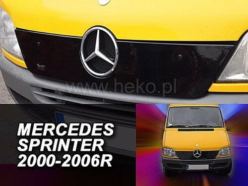 00-06 HEKO 04027 Winterblende für Frontgrill Grillblende MERCEDES Sprinter Bj