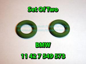 two-BMW-E36-E46-E39-E60-Engine-Oil-Filter-Cover-Gasket-O-Ring-Seal-11427549573