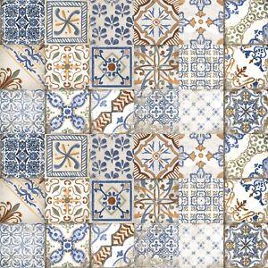 Details about Tiles Sale! Moroccan Style Italian Porcelain Wall & Floor  Tiles 20x20cm / Sqm