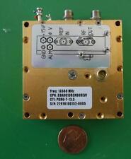 Herley CTI phase locked PDRO precision oscillator 13300 MHz, 13.3 GHz, tested