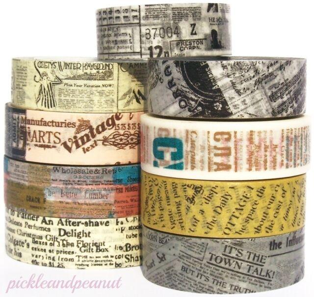 Washi tape vintage