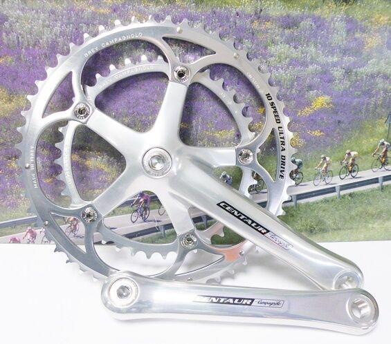 Campagnolo Centaur 10 speed crankset 172.5mm 39-53 NOS from 2005