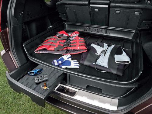 Nissan X-Trail T31 Original Bota Izquierda cajón de almacenamiento de coche//troncal H4906JH100 ***