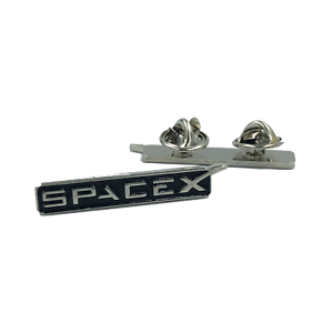 SpaceX-pin-Space-X-dual-pin-back-lapel-pin