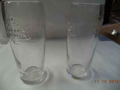 2 x Stella Artois Goblets and Straight Glasses all CE