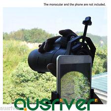Universal Adjustable Binoculars Monocular Bracket Adapter Mounts Connect Phone