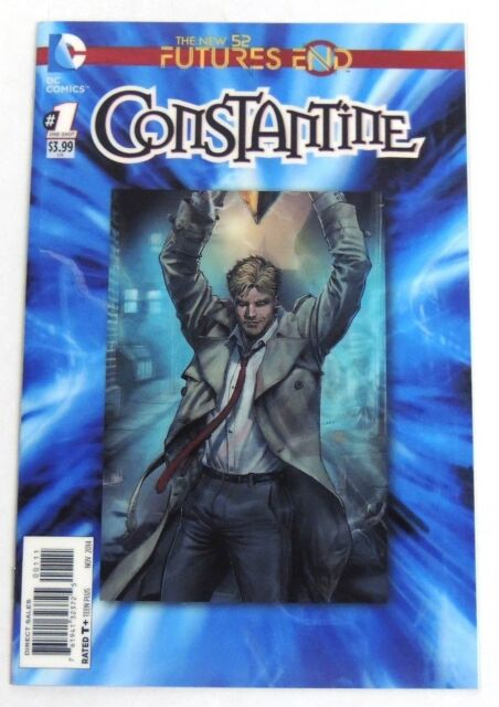 ESL1141. NEW Constantine Futures End #1 The New 52 DC COMICS 2014