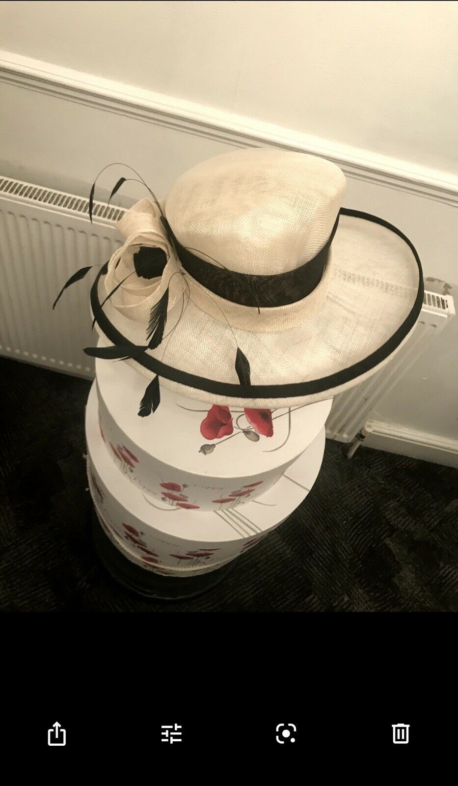 ExclusiveBlack & White Designer Millinery by Hat Couture Wedding/ Ascot RRP
