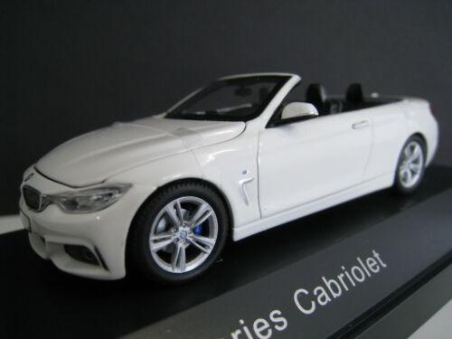 BMW 4er Cabriolet  in weiß  Kyosho  1:43  OVP  NEU