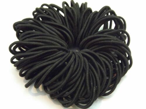 50x Hair band Quality Medium Endless Snag Free Hair Elastics Bobbles Bands