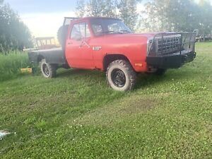 First gen dodge truck