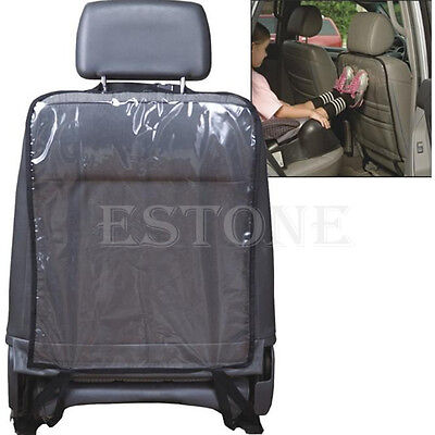 1PC Removable Transparent Anti-step Car Seat Back Cover Hang Mat Pad Protector