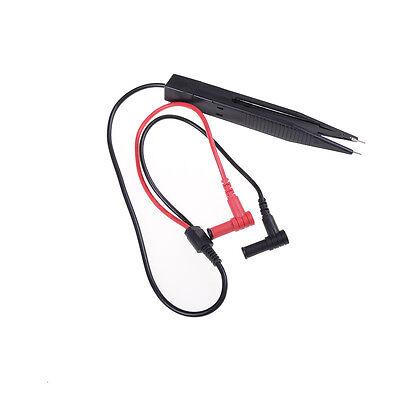 SMD Induktor Testclip Sonden Pinzette f/ür Widerstands Multimeter Kondensator 250V 50cm