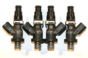 Details about $459 49, 1600 cc/min, Fuel Injectors, BLACK-OPS, H22 B20 D16  D15 F22A, E85 Ready