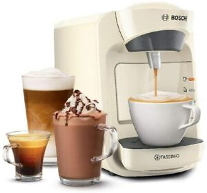 Tassimo TAS3107GB CREAM Suny Pod Hot Drinks Coffee Machine 1300 Watt