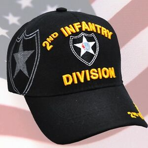 Details about US ARMY 2nd ID Infantry Division Ball Cap Vietnam Gulf OEF  OIF Veteran Vet Hat