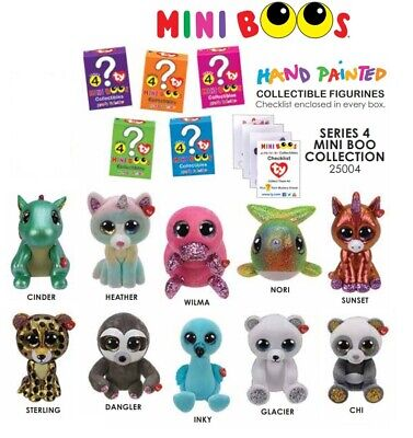 SET of 12 Ty Beanie Boos Mini Boo Hand Painted Collectible SERIES 2 Figurine Lot