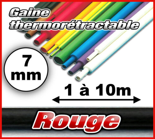 Gtr-7# red retractable thermo sheath 7mm 1 to 10m choice in listing 2//1