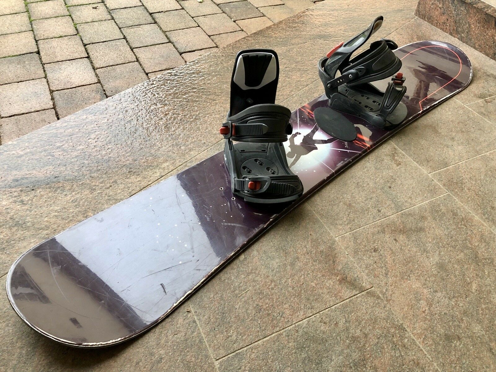 Head Snowboard 1,50m mit Bindung  | | | Hochwertige Materialien  31254e
