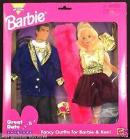 Barbie Easy Dress Great Date Fashions Fancy Outfits For Barbie & Ken