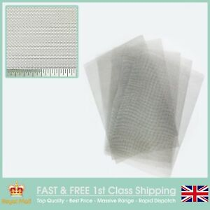 BUGSCREEN Stainless Steel Insect Mesh 5 PACK = A4 Sheet (210 x 300mm) x 5