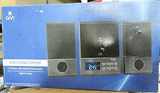 ONN ONA13AV503 MINI STEREO SYSTEM CD PLAYER AM/FM DIGITAL TUNER STEREO RADIO AUX