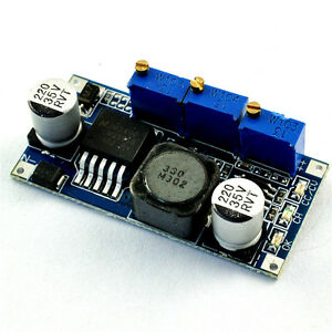 dc dc step down  LM2596 DC-DC Step-down Adjustable CC/CV Power Supply Module ...