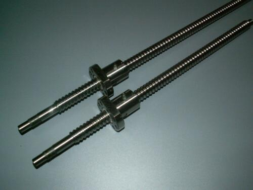 2 set Anti Backlash 16mm Lead screw RM1605-240//800mm-C7+ball nut+end machine CNC