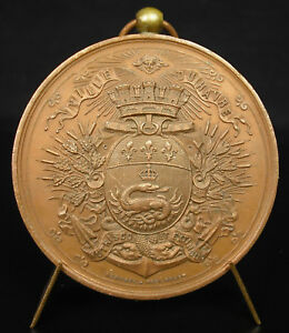 Medaglia-Conservatorio-Musica-Havre-Piano-a-Helene-Vayva-26-Giugno-1890-Medal