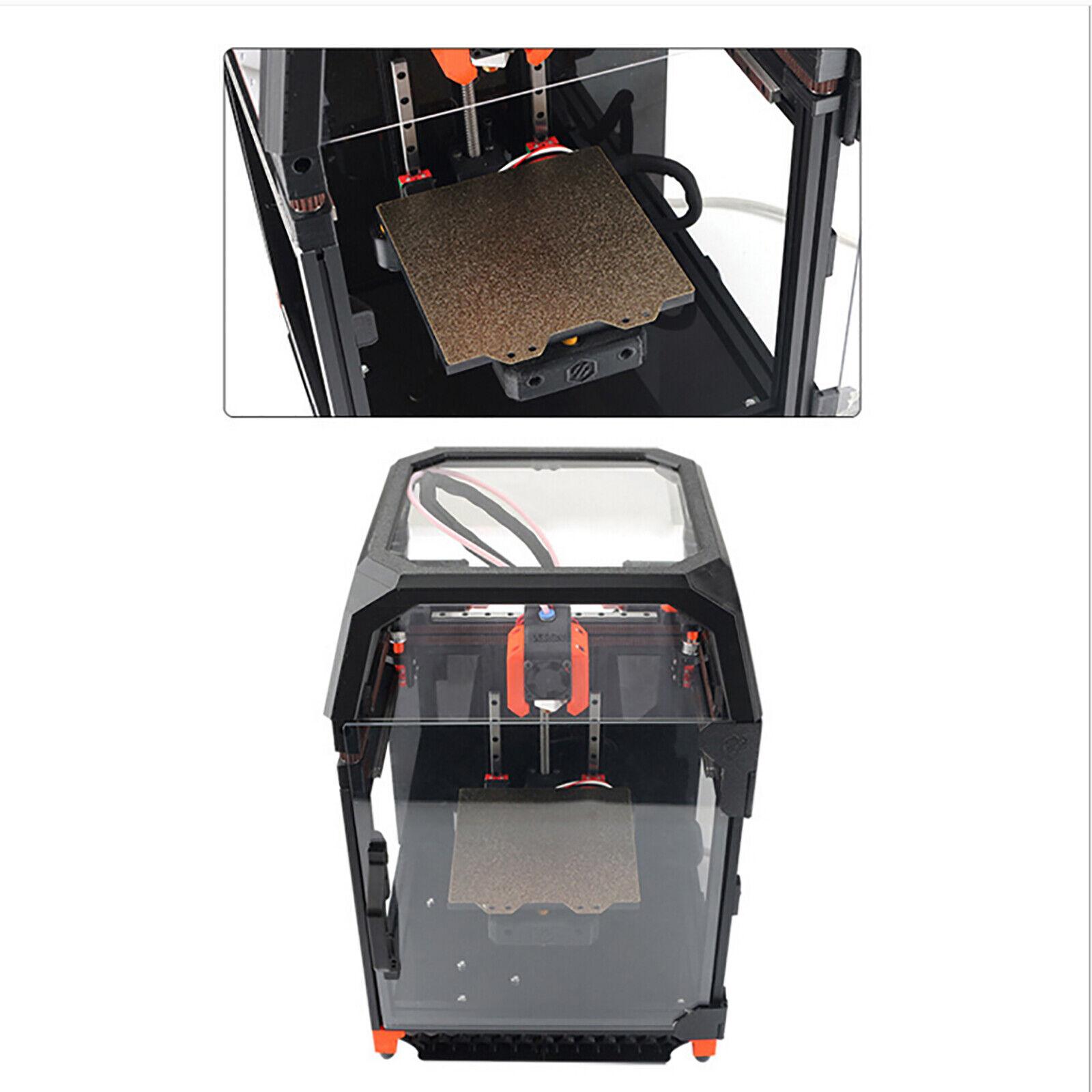 For VoronV0 3DPrinter PEI Textured Powder-Coated Steel Sheet Heated Bed Sticker