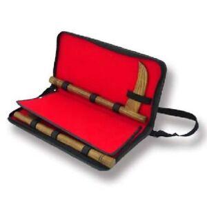 Belle Playwell Vinyle Kama Carry Case Armes Sac Housse De Protection Arts Martiaux-afficher Le Titre D'origine MatéRiaux De Qualité SupéRieure