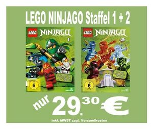lego ninjago staffel 1 2 alle 26 folgen tv special. Black Bedroom Furniture Sets. Home Design Ideas