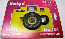 Holga Black SL-1 Selfie Self Portrait Lens for 120/135 Holga Camera USA Seller