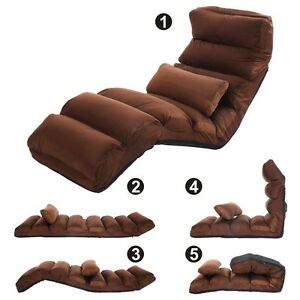 Image Is Loading Folding Lazy Sofa Chair Stylish Couch Beds