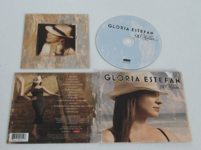 Gloria Estefan / 90 Millas (Bourgogne / Sony & BMG 88697 09055 2 7) CD Album