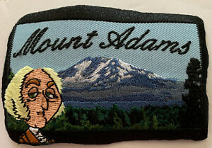 Embroidered Patch Mt Adams Oregon Souvenir Mountain Climbing Sew On New