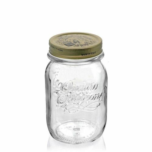 Einmachglas 500ml Quattro Stagioni von Bormioli Rocco Marmeladenglas Einkochglas