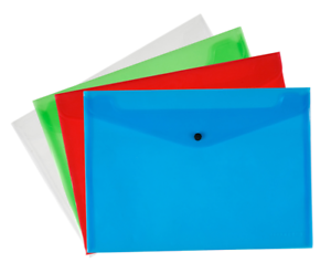 Pack-of-12-Quality-Plastic-Stud-Document-Wallets-Folders-Filing-Paper-Storage