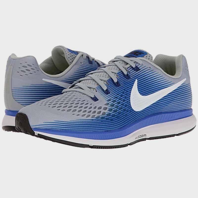 Nike Air Zoom Pegasus 34 Running Training shoes Grey 880555 007 Mens Sizes NEW