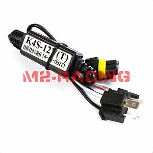 Details about 1pc Relay Wiring H4/9003 Bi-Xenon Hi/Lo Motorcycle HID on