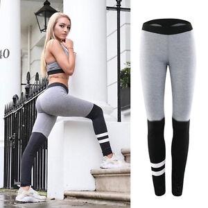 Mujer-Yoga-Deportes-Gimnasia-Ejercicio-Leggings-Atletismo-Pantalones-Jogging
