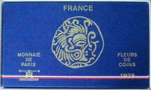 0028 - Coffret Fleurs De Coins - Francs - 1978 - 1 Centime à 50 Francs