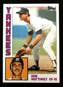 💥Don Mattingly ROOKIE Card RC 1984 Topps #8 New York Yankees 💎MINT 🔥📈💲