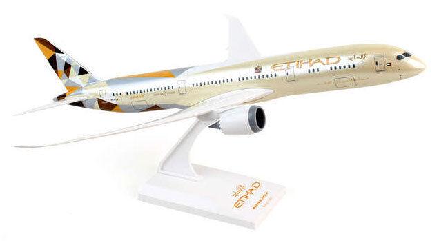 ETIHAD BOEING 787-9 1 200 skymarks skr834 b787 Dreamliner b787-9 NUOVO b787
