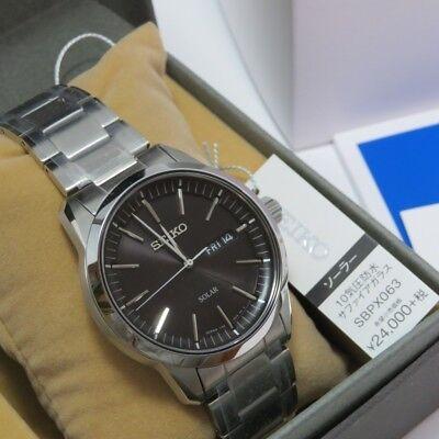 100% authentic a4ffd a8871 SEIKO SBPX063 SPIRIT Elegant Men's Watch Solar GENUINE New 4954628429681 |  eBay