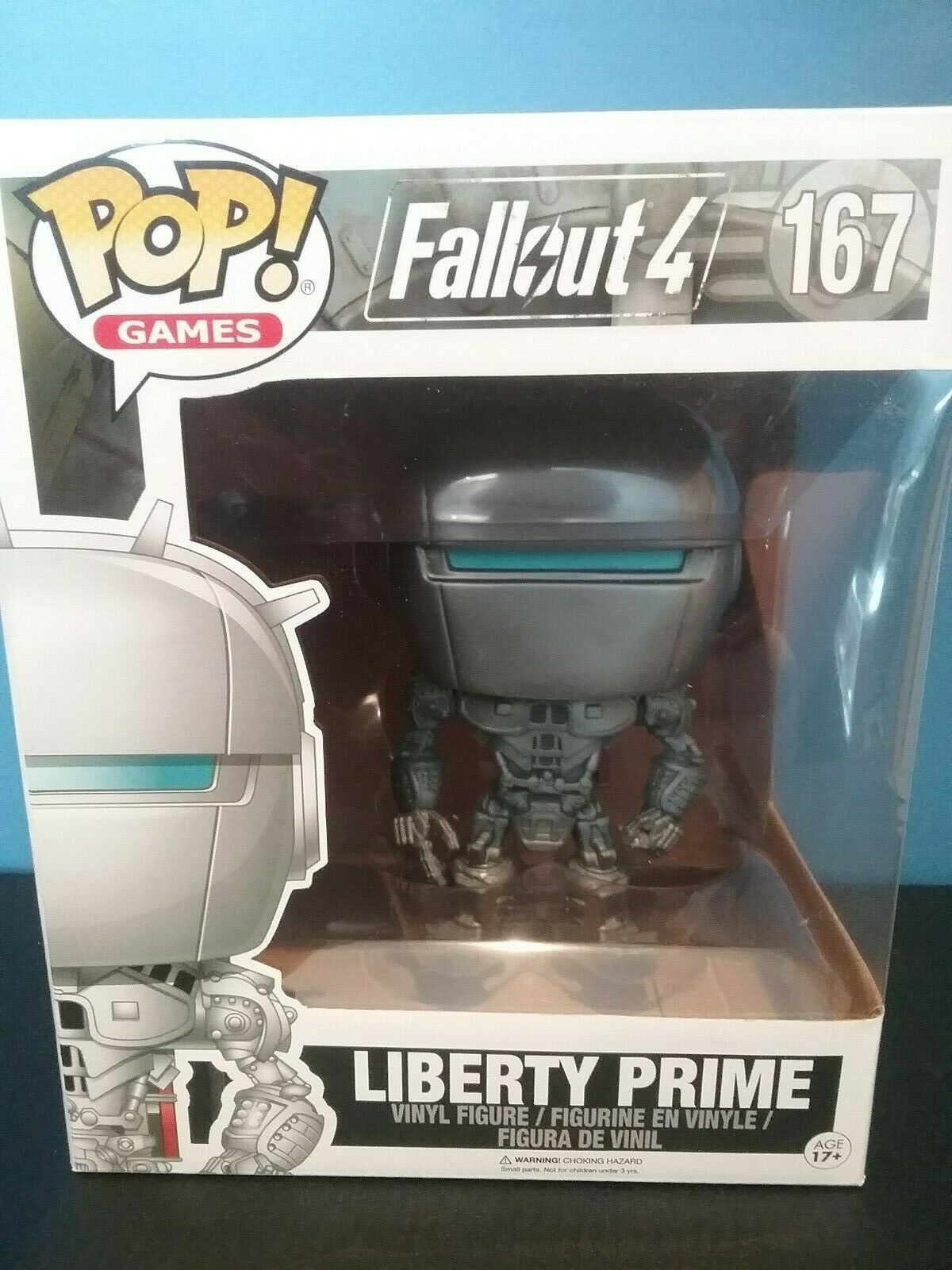 Funko Pop  Liberty Prime 6'' from Fallout 4  167