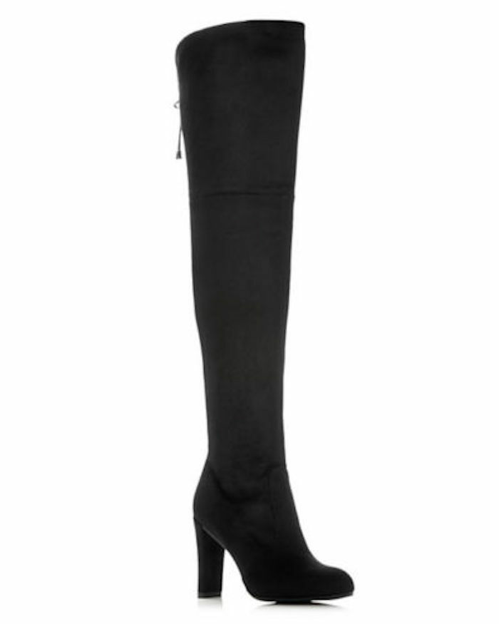 SAM EDELMAN Kent Over-The-Knee Microsuede Boots Black Black Black BLACK  190NIB 8.5 9.5 & 10 5c2ec9
